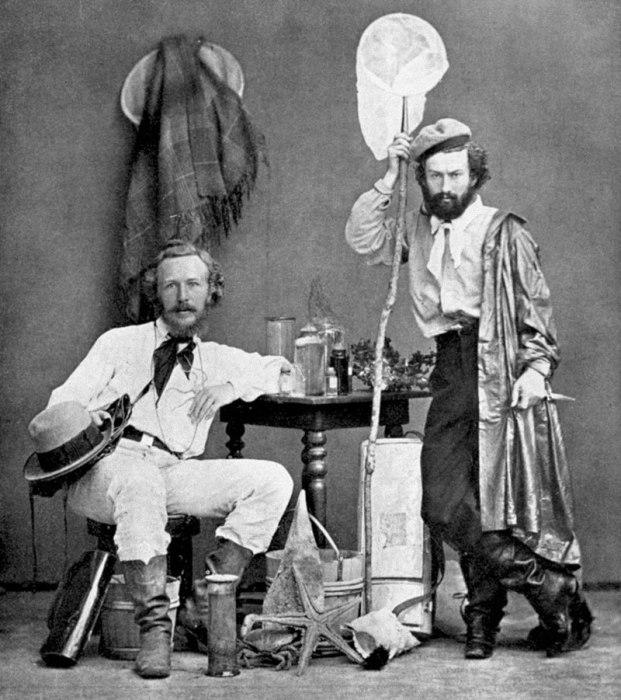 Эрнст Геккель и Николай Миклуха на Канарских островах, 1866 год. | Фото: ru.wikipedia.org.