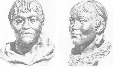 Финно-угры, пришедшие с Сибири на русский северо-запад 3500 – 2700 д.н.э.  (??здесь археологическая датировка даётся более ранняя,чем датировка генетиков).
